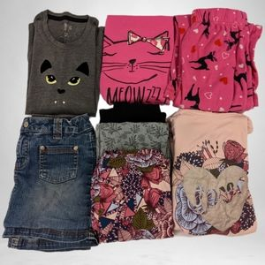 3/$12 Girls 7/8 Mixed Lot of 8